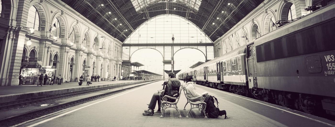 Keleti Pu Train Budapest