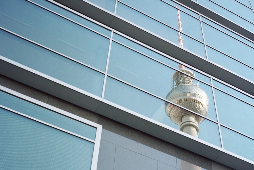 Fernsehturm Berlin refection