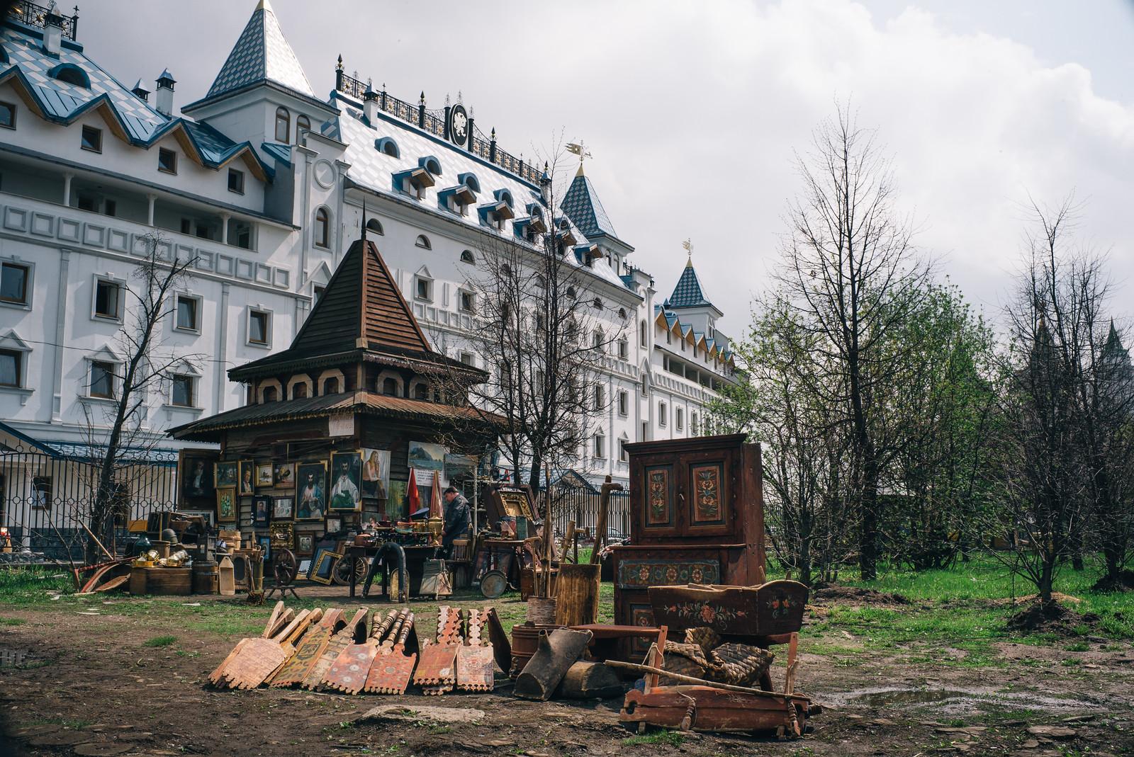 Moscow's Izmailovsky FleaMarket